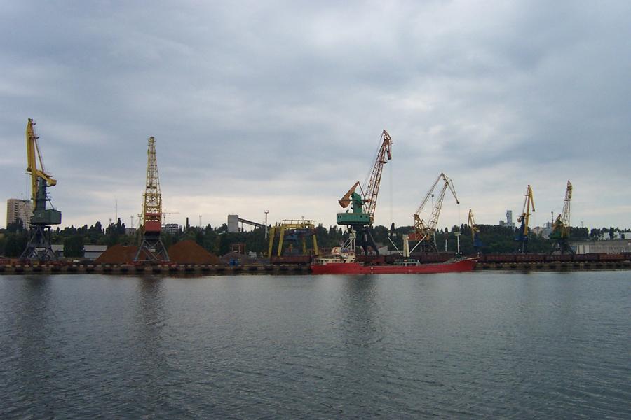 порт в Ильичевске