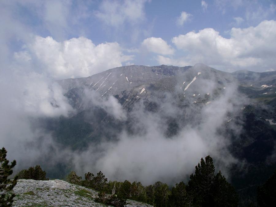 облака на Олимпе