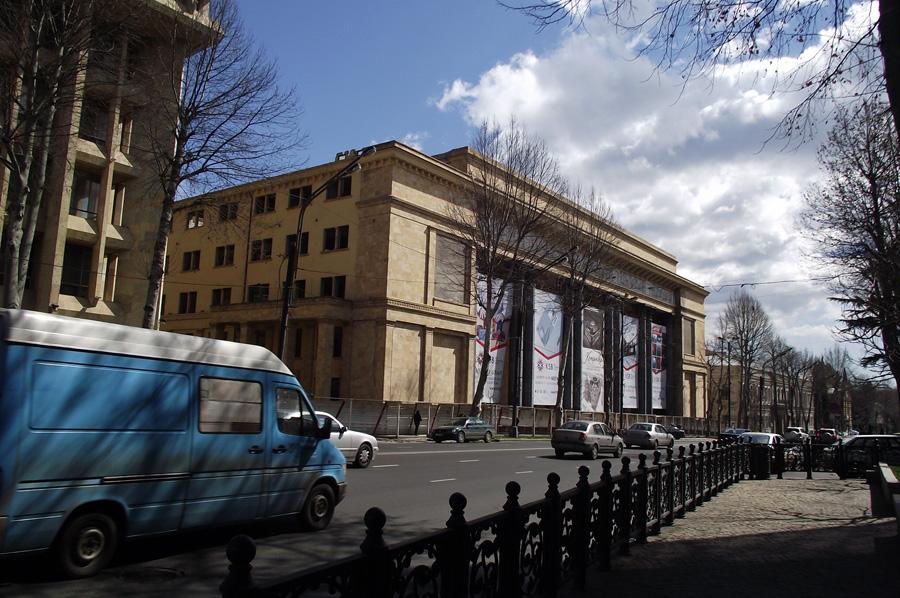проспект Руставели в Тбилиси