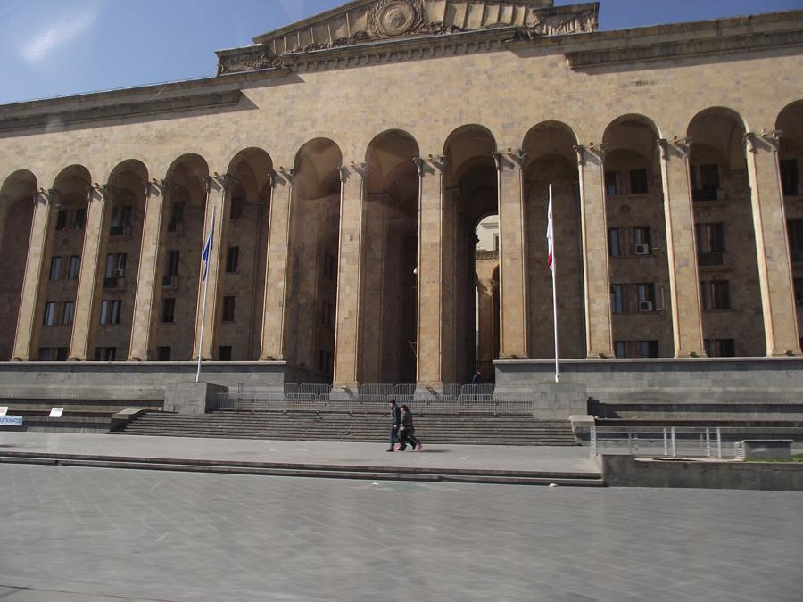Тбилиси, здание Парламента